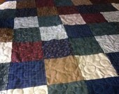 Sale Handmade Patchwork Country Lap Quilt
