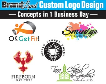 One Business Day Logo Concepts, Logo Design, Custom Logo Design, Business Logo, Creative Logo, Logo Design Service, Photography Logo