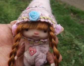 sweet   ooak posable   tiny  fairy fairie fae
