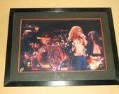 Original 1975 Led Zeppelin Photograph, The Forum in Los Angeles,Ca. March 27,1975, Artist Proof Signed by the Photographer,Framed