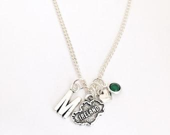 Personalized Ireland Necklace