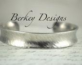 Design Your Own Custom  Secret Message Hand Stamped Bracelet- Personalized Bracelet