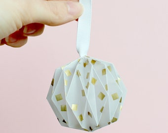 Origami Paper Ball