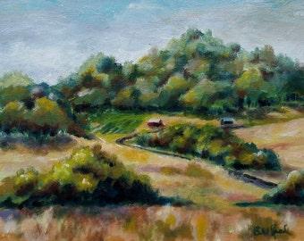 California Foothills - original oil painting