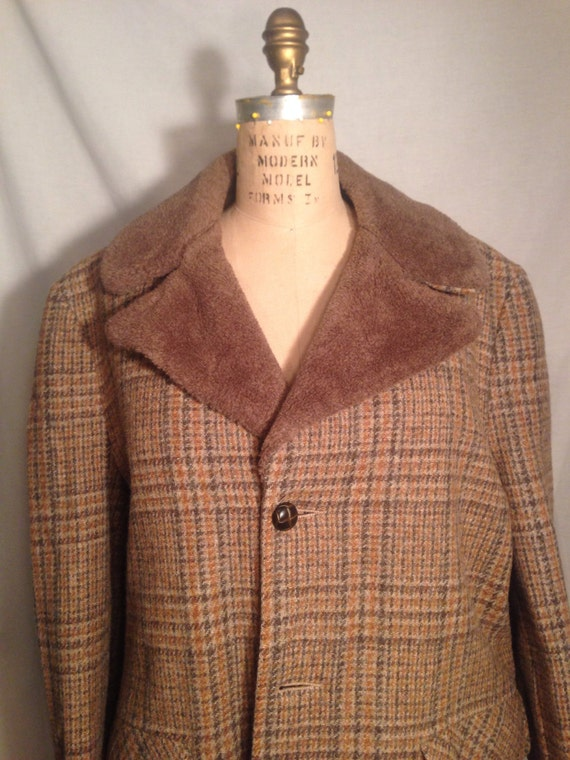 Vintage 60s Mens Woolrich Plaid Jacket Sale