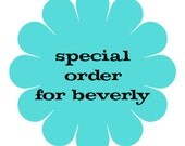 special order for beverly