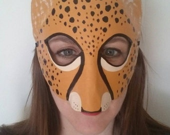 Cheetah mask, Cheetah costume