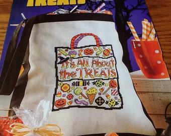 Halloween Treat Bag - Cross Stitch Pattern Only