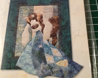 McKenna Ryan - THERE A MAH-ah-ah - And On That Farm - Art Quilt Pattern Only