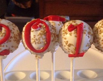 Cake Pops Or Cake Balls Graduation 24 Cake  Pops Special Price