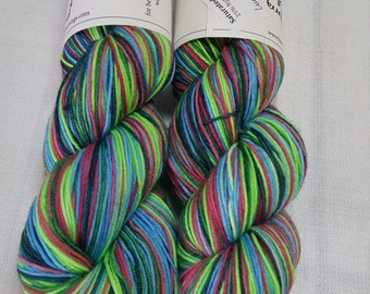 Saturated Sock Selfstriping  LUCK