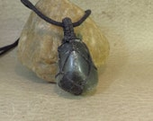 Bloodstone Pendant - March Birthstone - Lift the Spirit - Protection Strength - Heart and Root Chakra Reiki Inspired Jewelry