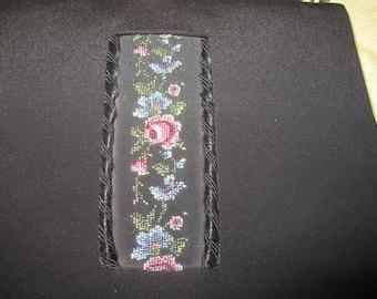 Vintage Handbag Handwork silk embroidered