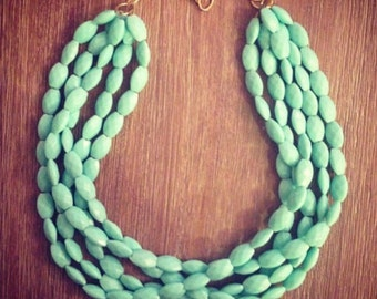 It's Mint To Be Necklace LAST ONE