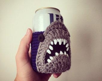 Shark Week Jaws Beer Can Cooler
