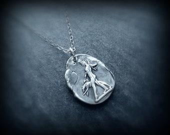 Silver Artemis pendant  by RECREATE4U