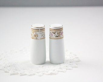 Wallace Heritage Daphne Pattern Salt and Pepper Shaker Set