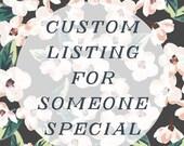 Memorial Day Sale Custom Listing for LyndiSue814
