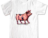 Little PIGGY Baby Pig Farm AnimalT-shirt Women Men Children Small, Medium, Large, XL
