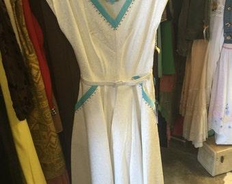 GORGEOUS 1950s Momarte Garden Party Dress NWT!!!!!!