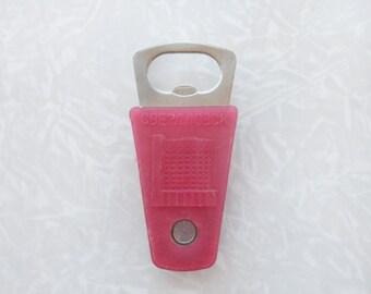Vintage Soviet Bottle Opener and Bottle Stopper, Gift for Him, Men's Keychain