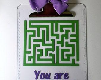 A-maze-ing Clipboard