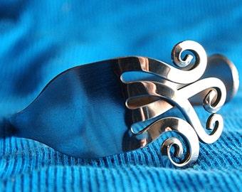 Silverware jewelry, Fork Bracelet, Hand Made Silverware Jewelry, gifts under 25, gift for her,gift for bridesmaid