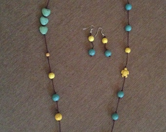 Long Knotted Necklace