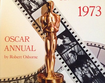 Book, Academy Awards 1973 by Robert Osborne