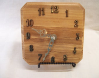 Clock Made of Olive Wood