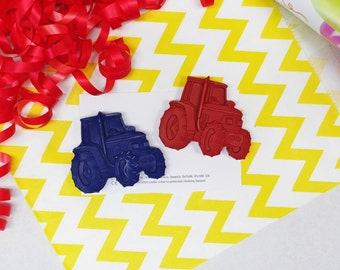 Tractor Crayon Party Favour -  Kids Party Favour - Crayon Party Favours - Party Bag - Wedding Favours - Made to Order - Handmade Crayons