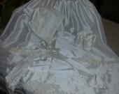100% Duponi Silk Baptismal/Christening Gown