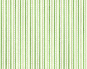 Home for the Holidays Green Holiday Candy Stripe SKU# C3977-GREEN