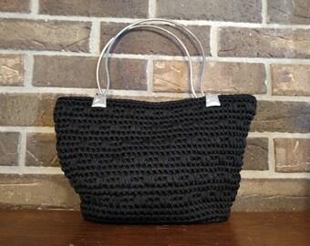 Handmade Handbag - Black