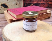 Calligraphy Brown Ink for Dip Pens and Quills - Natural Brown Sienna Stone Pigment - Ideal for Copperplate Hand
