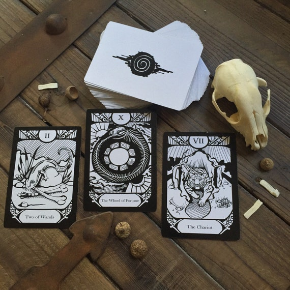 Animalis Os Fortuna Complete Tarot Deck and Companion Book - Second Edition