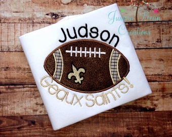 Saints football shirt - football shirt - geaux saints
