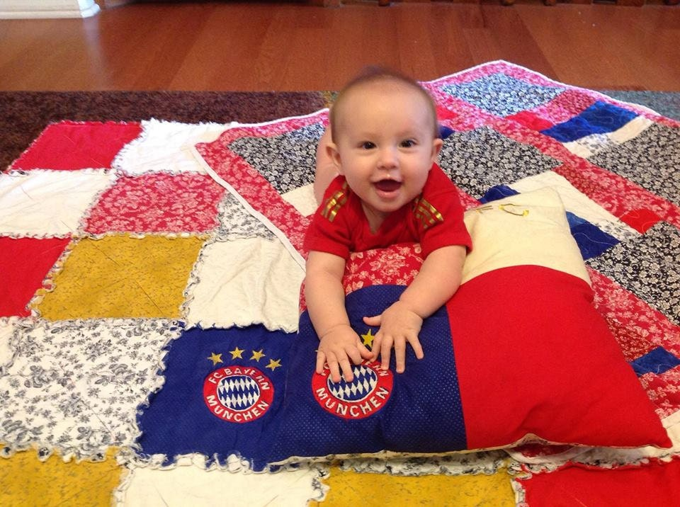 More quilts/pillows that her dad and mom like.