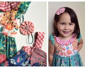 M2M Matilda Jane *Once Upon A Time* True Love, So Charming, Rose Tree ~ Flower Clip or Headband