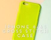 IPhone 6 Cross Stitch Case, iPhone 6s Cross Stitch Case, Cross Stitch iPhone Case, iPhone Case, Cross Stitch  -DIY-