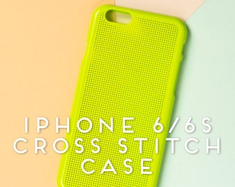 IPhone 6 Cross Stitch Case, iPhone 6s Cross Stitch Case, Cross Stitch iPhone Case, iPhone Case, Cross Stitch  -DIY-