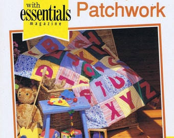 Childrens Quilts Quilting And Patchwork Book Including Template Diagrams