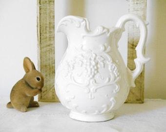 Vintage Porcelain Pitcher