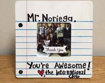 Classroom Decor Teacher Picture Frame