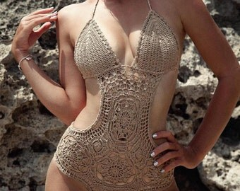 Crochet Summer Swimwear