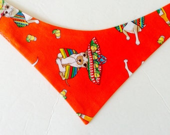 Small Dog Bandana, Dog Bandana, Chihuahua Bndana, Small Dog  Neckwear, Dog Necktie, Small Dog Necktie,Fits 14 to 16 Inch Neck, Ready to Ship