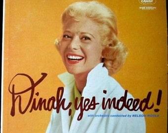 Dinah, Yes Indeed: Dinah Shore [Vinyl LP]