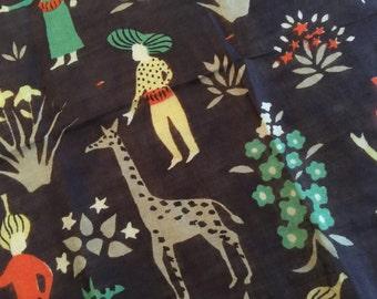Tammis Keefe Giraffes Hankie