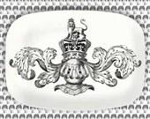 Armour Cavalieri melamine serving platter