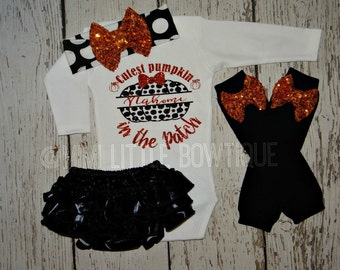 Personalized- Cutest Pumpkin in the patch Bodysuit- Pumpkin patch shirt- Fall shirt- pumpkin patch- fall festival shirt